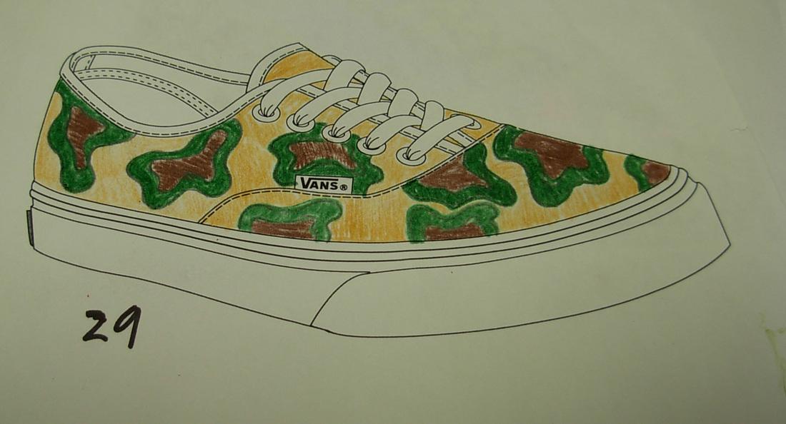bde7be7ed4 Vans Shoe Design Contest - South Central High School Visual Art Department.